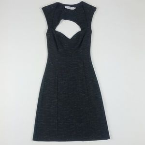 Opening Ceremony Gray Bodycon A-line Mini Dress